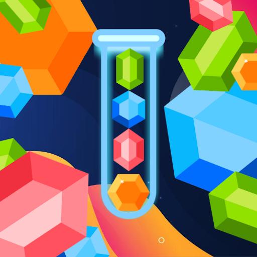 BrainTube - Gems Sort Puzzle